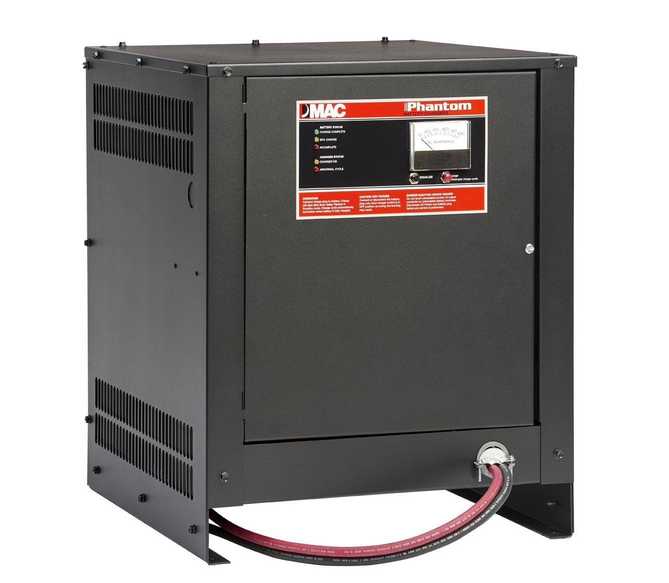 Industrial Battery Chargers Motor Appliance Corporation